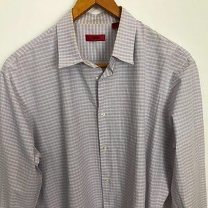 Hugo Boss Multi-Color Red Label 17.5 Checked Shirt